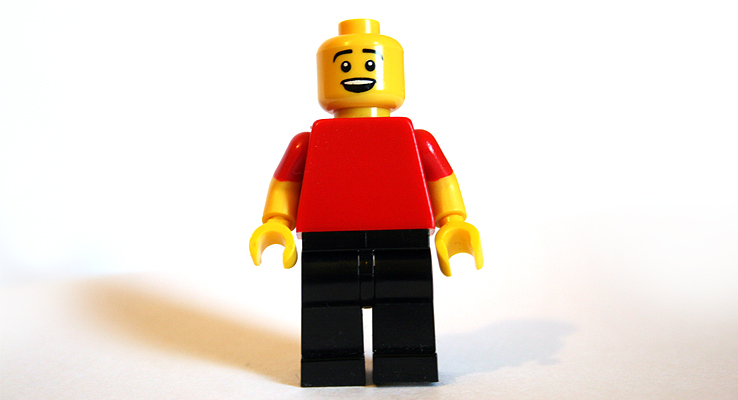 Image of a simple lego character